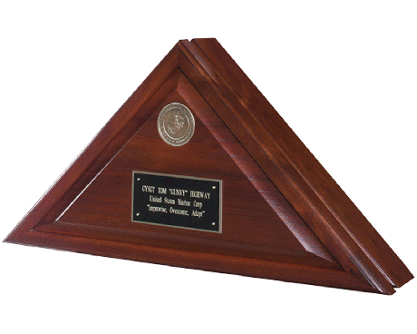 "Memorial Case ""Heritage"" Walnut"
