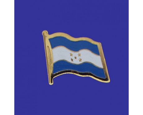 Honduras Lapel Pin (Single Waving Flag)