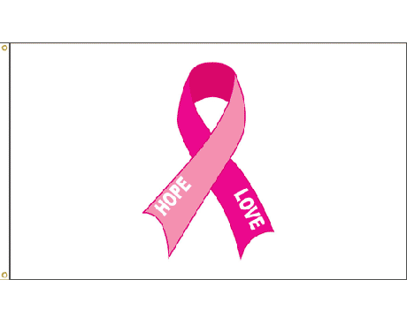 Hope & Love, Breast Cancer Flag