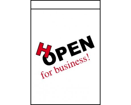 HOPEN For Business Flag, Vertical - 2x3'