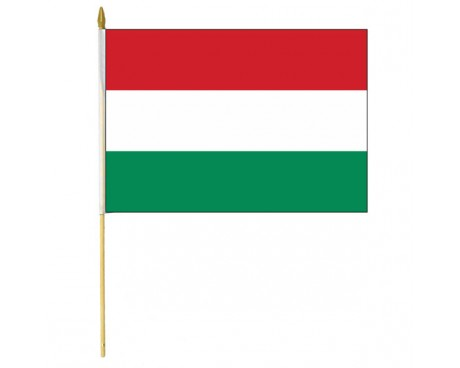 Hungary Stick Flag