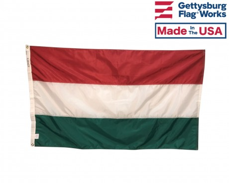 Hungary Flag, Indoor & Outdoor