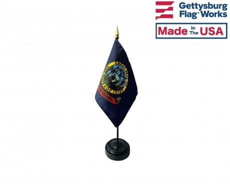 "Idaho State Stick Flag - 4x6"""