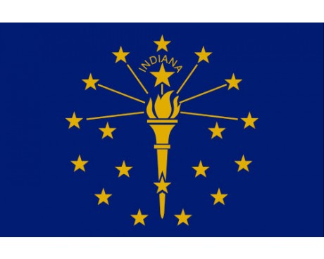 Indiana Flag - Outdoor