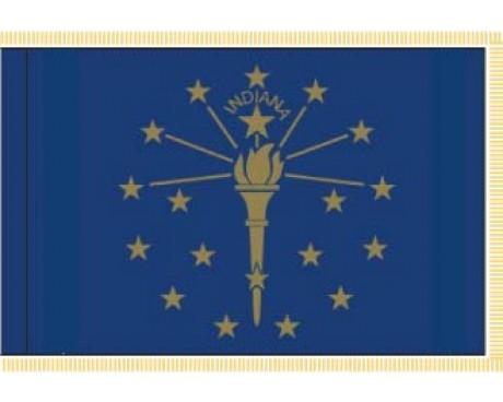 Indiana Flag - Indoor