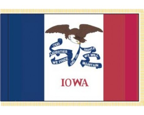 Iowa Flag - Indoor
