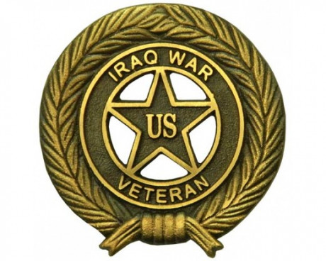 Iraq War Grave Marker