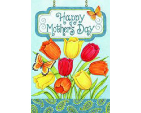 Mothers Day Tulips House Banner