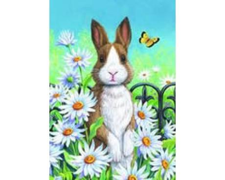 Bunny & Daisies House Banner