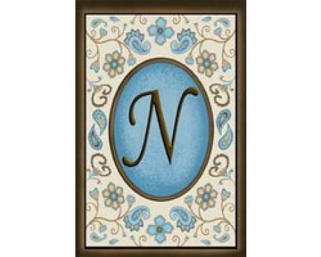"Chocolate Elegance ""N"" Garden Flag"