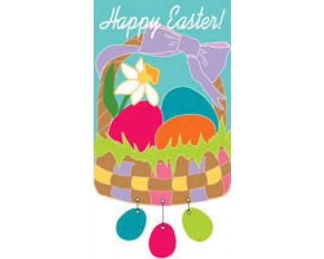 Easter Basket House Banner