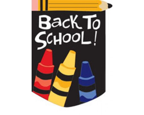 Back To School Garden Flag