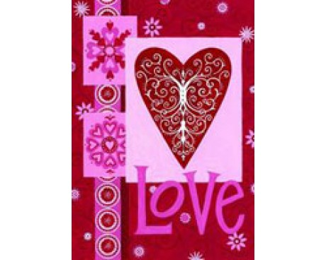 Love Heart House Banner