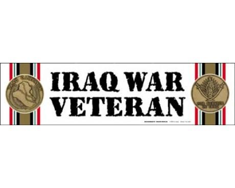 Iraq War  Veteran Magnet