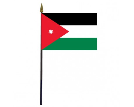 "Jordan Stick Flag - 4x6"""