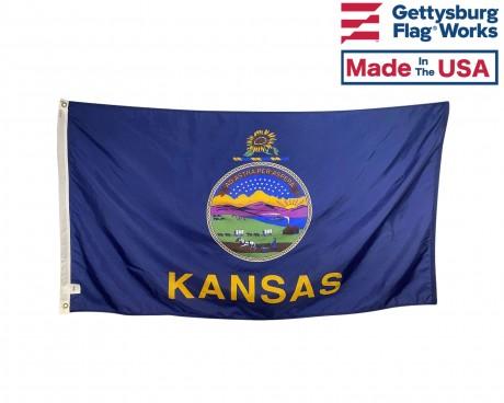 Kansas Flag - Outdoor