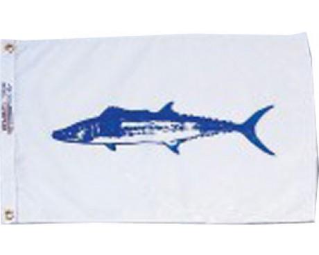 "King Mackerel Flag - 12x18"""