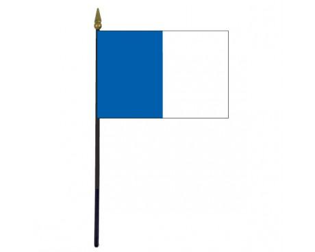 "Laois County Stick Flag (Ireland) - 4x6"""