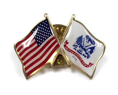 Army Flag Lapel Pin