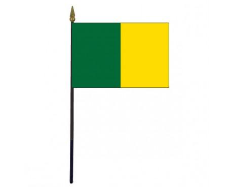 "Leitrim County Stick Flag (Ireland) - 4x6"""