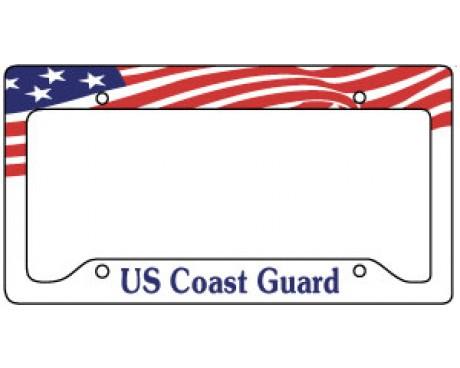 Coast Guard License Plate Frame