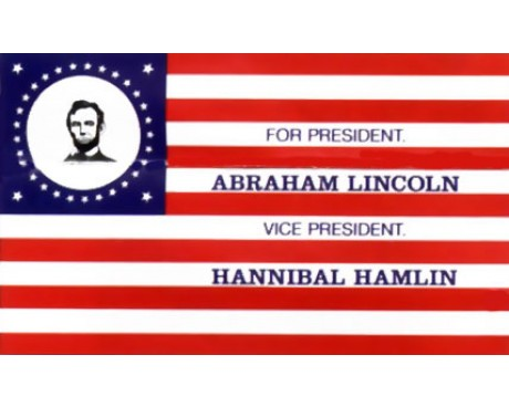 Lincoln Election Flag - 3x5'