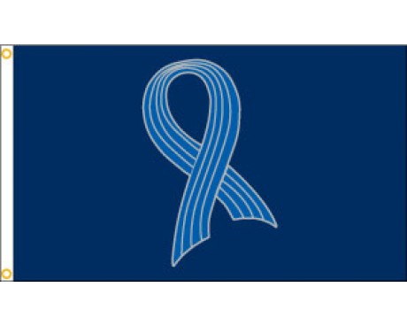 Lou Gerhig ALS Awareness Ribbon Flag - 3x5'