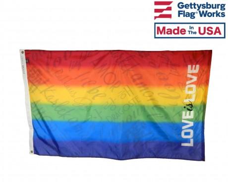 Love is Love Pride Flag