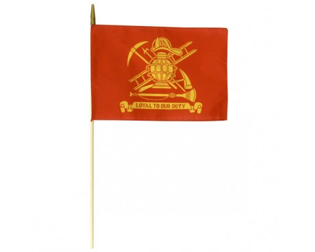 Firemen Stick Flag (Loyal)