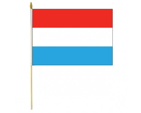 Luxembourg Stick Flag