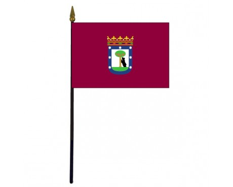 Madrid Stick Flag - 4x6""