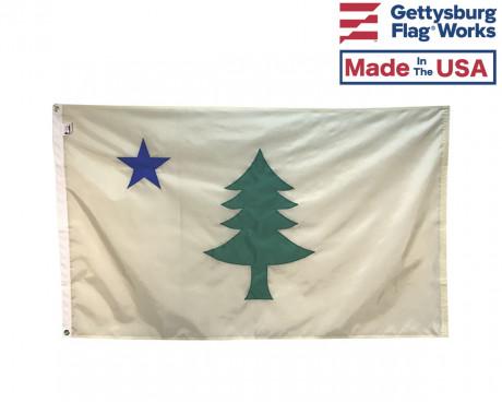 Original Maine Flag Front