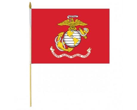 Marine Corps Stick Flag