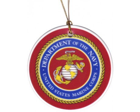 Christmas Ornament Marine Corps