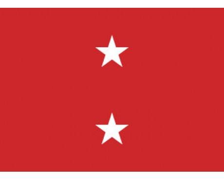 Marine Major General Flag (2 Stars) - 3x5'