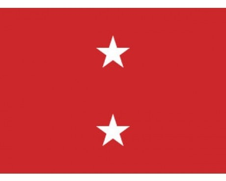 Marine Corps Major General (2 Star) - Marine Corps Officer Outdoor Flags