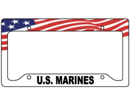 Marines License Plate Frame
