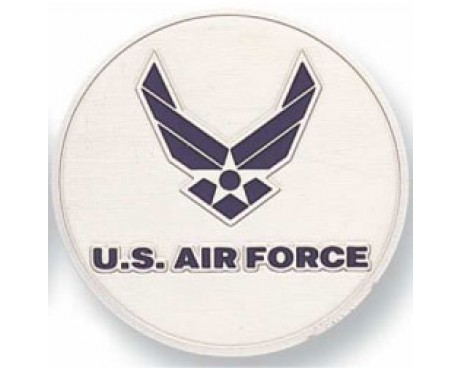 US Air Force Go Blue Medallion