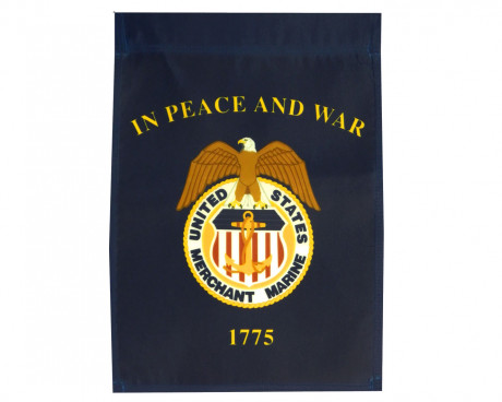Merchant Marines Garden Flag