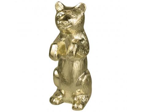 Standing Bear Gold Finial