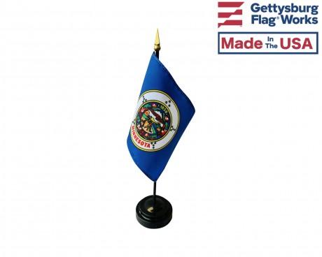"Minnesota State Stick Flag - 4x6"""