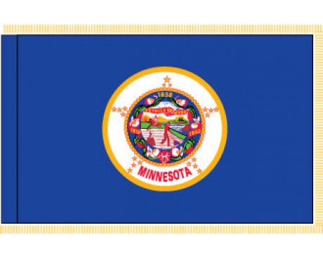 Minnesota Flag - Indoor