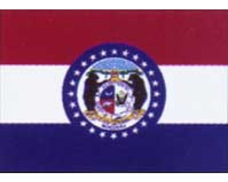 Missouri Flag - Outdoor