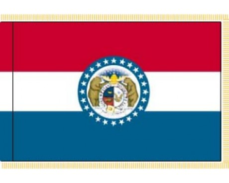 Missouri Flag - Indoor