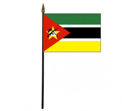 Mozambique Stick Flag - 4x6""
