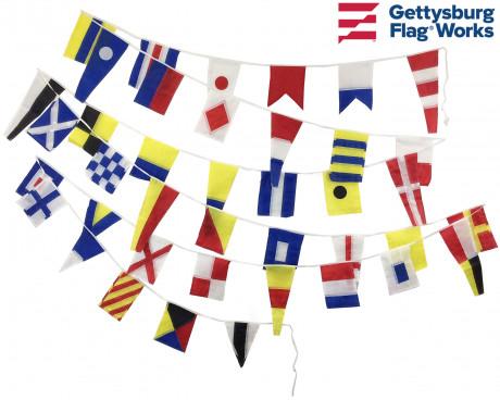 Signal Flag String of 40 Nautical Flags