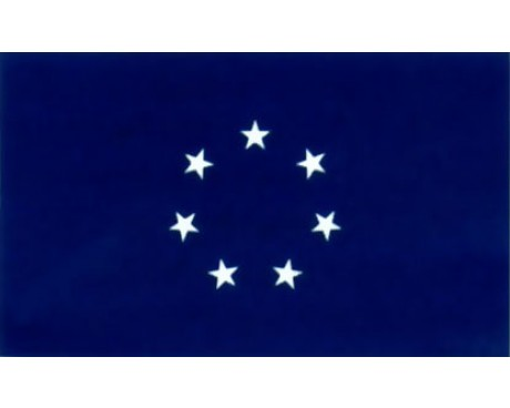 Naval Jack Flag - 3x5'
