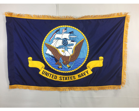 U.S. Navy Applique Flag, 3x5