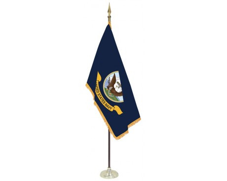Navy Indoor Flag Set