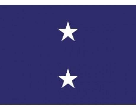 Navy Rear Admiral (2 Star Upper Admiral)  - Naval Officer Outdoor Flags